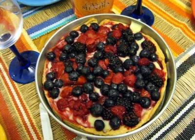 Cream Fruit Pie