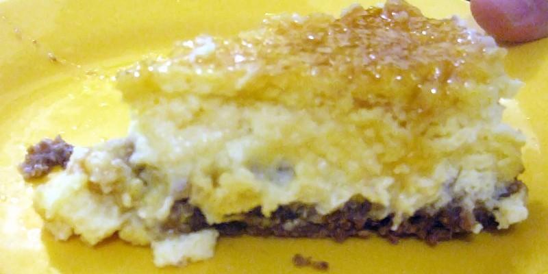 Cheesecake de bergamota