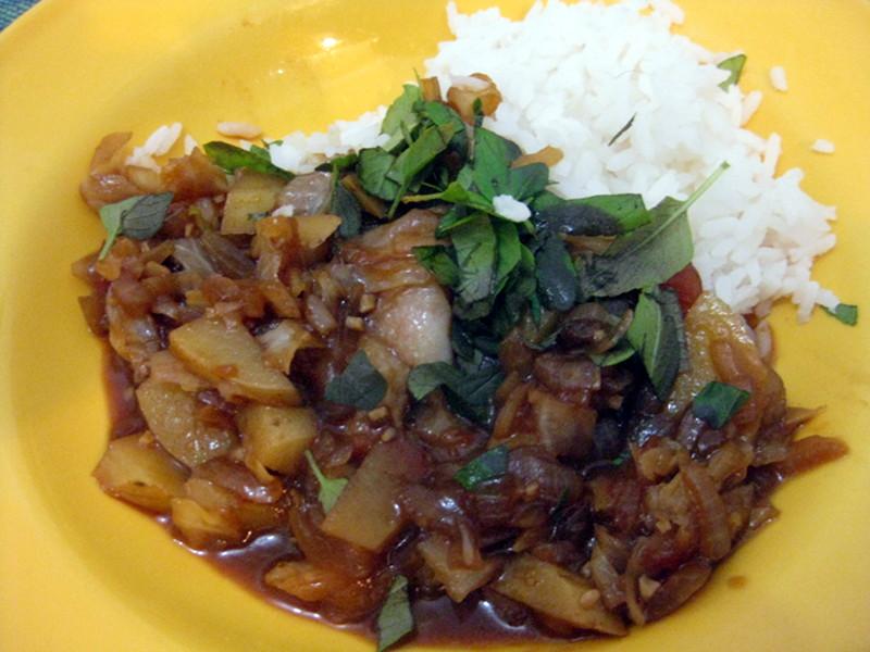 Curry vermelho tailandês