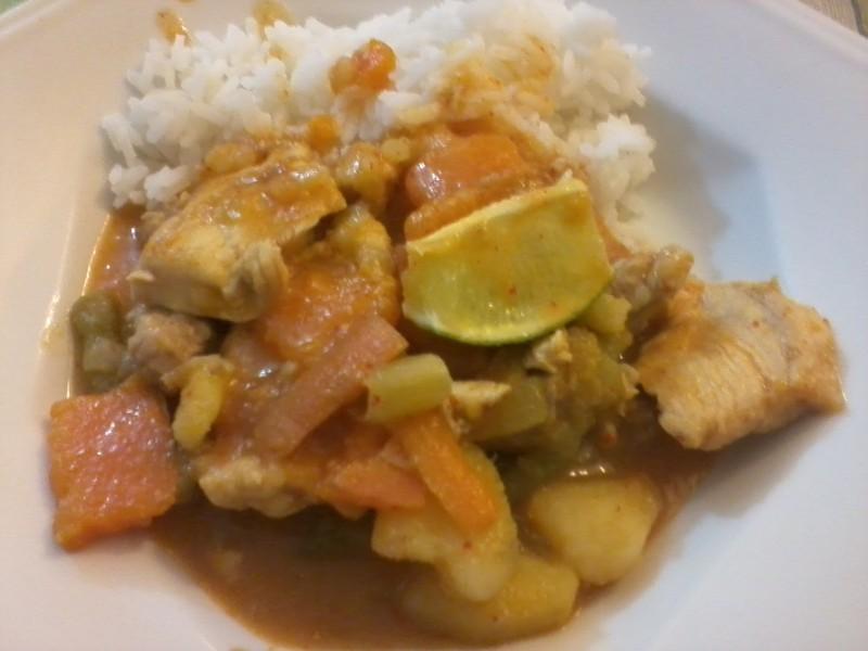 แกงเผ็ด - Curry vermelho tailandês